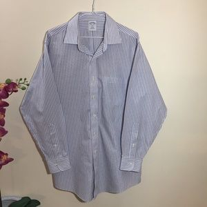 Brooks Brothers Button Up Dress Shirt Long Sleeve